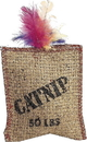 Ethical Jute & Feather Sack With Catnip