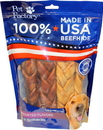 Pet Factory Usa Beefhide Braided Sticks