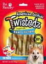 Pet Factory 27220 Twistedz Beefhide Twist Sticks