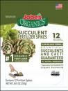 Jobes 06703 Jobe'S Organics Succulent Spike Pouch, 12 Ct