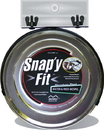 Midwest Snap Y Fit Bowl - Stainless Steel - 2 Quart