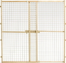 Midwest Homes For Pets Wood/Wire Mesh Pet Gate