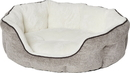 MIDWEST HOMES FOR PETS 40279-TTM Quiet Time Tulip Pet Bed Fur, Taupe, Medium