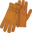 Boss Premium Grain Cowhide Leather Driver Glove - Tan - Large