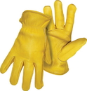 Boss Premium Grain Deerskin Leather Driver Glove - Tan - Medium