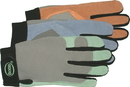 Boss Ladies Guard Split Leather Palm Lycra Back Glove - Assorted - Medium