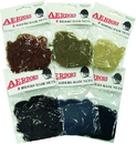 Imported Horse &Supply Aerborn Heavy Weight Hair Nets - Dark Brown - 2 Pack