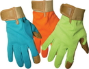 Boss Guard Ladies  Deluxe Goatskin Palm Lycra Back - Assorted - Large