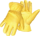 Boss Therm Premium Insulated Deerskin Driver Glove - Tan - Large