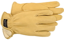Boss Therm Premium Insulated Deerskin Driver Glove - Tan - Small