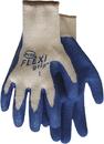 Boss Flexigrip Latex Palm String Knit Glove - Blue - Large
