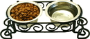 Ethical Stainless Steel Scroll Work Double Diner - Stainless Steel - 1 Pint