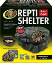 Zoo Med Repti Shelter 3-In-1 Cave - Brown - Large
