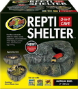 Zoo Med Repti Shelter 3-In-1 Cave - Brown - Medium