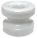 Woodstream Zareba Corner Post Ceramic Insulators - White - 1.75 In/10 Pack