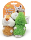 Booda Terry Plush Elephant & Chipmuck Dog Toy - 2 Per Pack