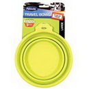 Petmate Travel Bowl For Dogs & Cats - Green - Large