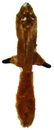 Ethical Dog Plush Skinneez Squirrel - Assorted - 27 Inch