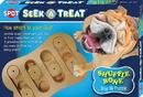 Ethical Seek-A-Treat Shuffle Bone - Brown - 12 Inch