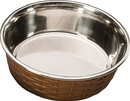 ETHICAL SS DISHES Soho Basketweave Dish