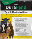 Durafend Type C Medicated Dewormer Feed
