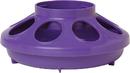 Miller Little Giant Feeder Base For Poultry - Purple - 1 Quart