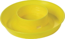 Miller Little Giant Screw-On Poultry Waterer Base - Yellow - 1 Quart