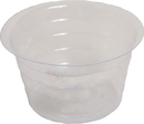 Bond Plastic Saucer - Clear - 4 Inch