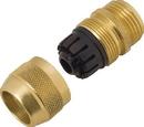 Melnor Metal Male Hose Repair - Brass - 5/8 Inch