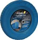 Ames True Temper Flat Free Knobby Wheelbarrow Replacement Tire - Blue - 8 Inch