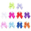 TopTie Women Bow Ties Solid Color Bowknot Neckwear 10pc Mixed Lot