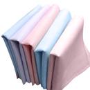 TopTie 5 Pack Cotton Pocket Square Handkerchiefs Hankie Set Solid Color