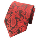 TOPTIE Men's Paisley Tie, Necktie With Pattern, For Party / Wedding/Business