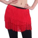 BellyLady Belly Dance Tribal Gypsy Fringe Belt, Egyptian Arabic Dance Hip Scarf