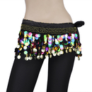 Wholesale BellyLady Plus Size Belly Dance Hip Scarf With Paillettes, Christmas Gift Idea