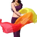 BellyLady 1 Pair 1.8M Belly Dance Dancing Bamboo Long Fans