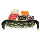 BellyLady Wholesale Lots Of 6 Gold Coins Belly Dance Hip Scarves, Gift Idea