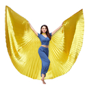 BellyLady Belly Dance Costume Isis Wings With Sticks, Egyptian 360 Degrees Wing