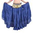 BellyLady Womens Belly Dance 8 Yard Skirt Vogue Bohemia Skirt Gypsy Maxi Skirt