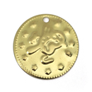 BellyLady 100pc Belly Dancing Coins, Bird Design On One Side, Gift Idea