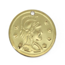 BellyLady 100pc Belly Dancing Coins, Cavalier Design On One Side, Gift Idea