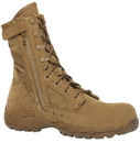 Belleville Flyweight TR596Z CT: Hot Weather Side-Zip Composite Toe Boot - COYOTE