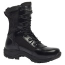 Belleville Class-A TR908Z Wp Waterproof High Shine Side Zip Boot - BLACK