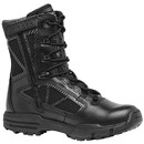 Tactical Research Tr Chrome Tr998Z Wp:  Waterproof Side Zip Boot - BLACK