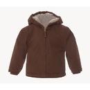Berne Apparel BHJ42M Infant Boys Sanded Hooded Coat - Fine Sherpa Lined