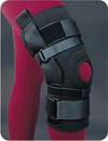 Bird & Cronin L'Timate Hinged Knee Support With Felt Buttress And Popliteal Cutout