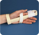 Bird & Cronin Deluxe Foam Finger Splint With Hook And Loop Closure
