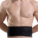 GOGO Waist Trainer Belt With Spring Support Strips, Breathable Waist Shaper