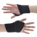 GOGO 1 Pair Black Wrist Brace Compression Support