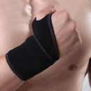 GOGO 1Pair Black Wrist Brace Thumb Stabilizer Compression Wraps Support